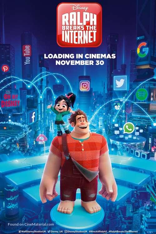 Ralph Breaks the Internet - British Movie Poster