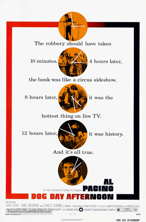 Dog Day Afternoon - Theatrical poster