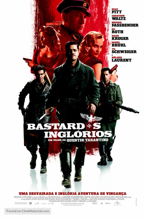 Inglourious Basterds - Brazilian Movie Poster