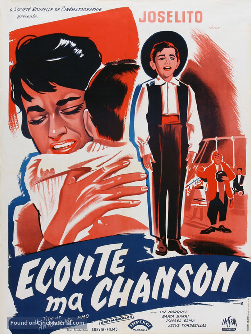 Escucha mi canción - French Movie Poster
