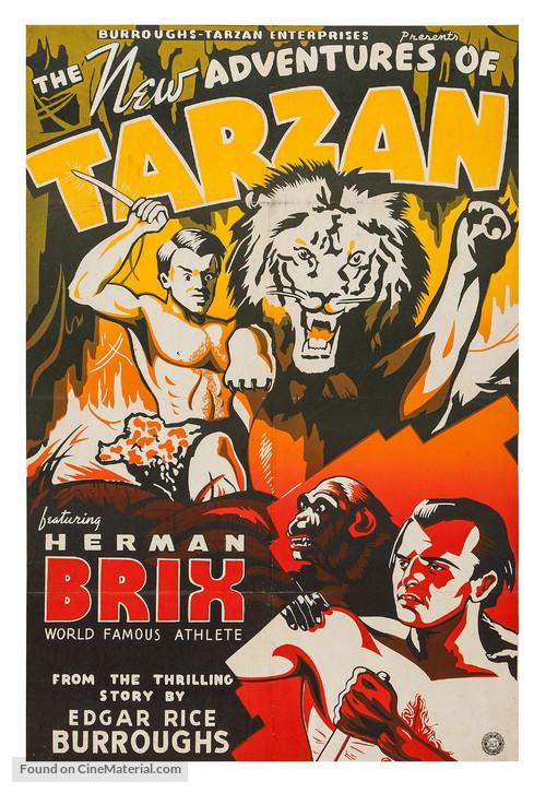 The New Adventures Of Tarzan Movie Poster