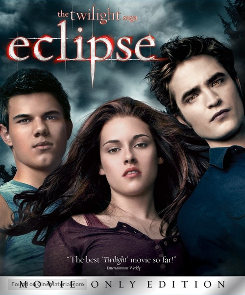 The Twilight Saga: Eclipse - Blu-Ray cover