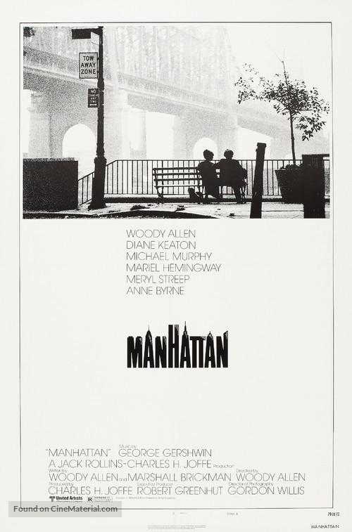 Manhattan - Theatrical movie poster