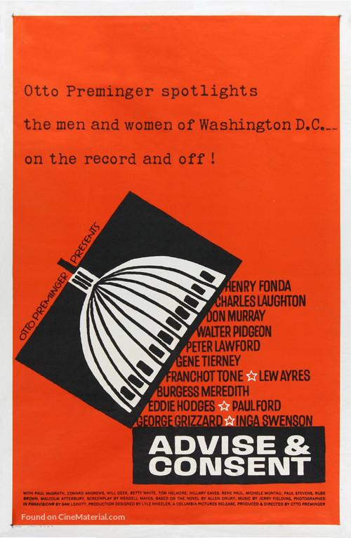 Advise & Consent - Movie Poster