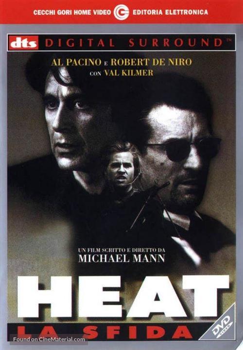 Heat - Italian HD-DVD movie cover