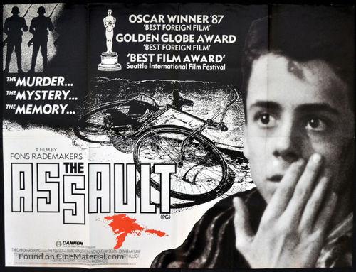 Aanslag, De - British Movie Poster