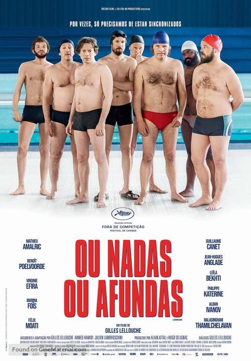 Le grand bain - Portuguese Movie Poster
