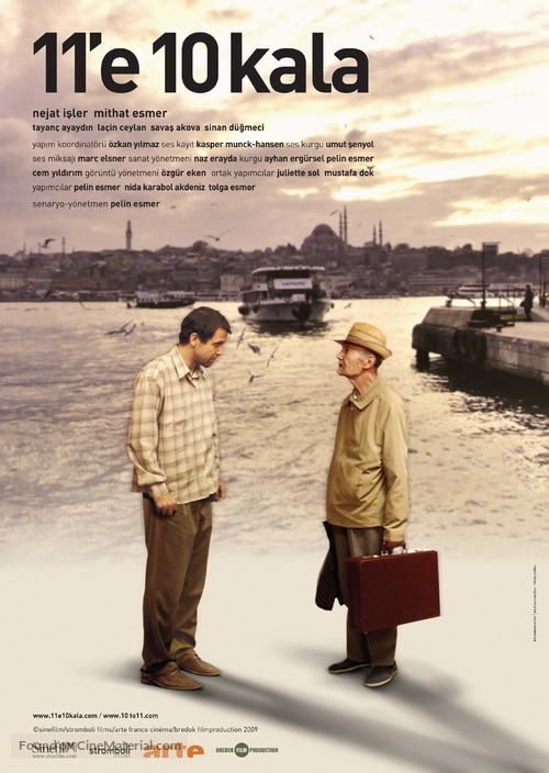 11'e 10 kala - Turkish Movie Poster