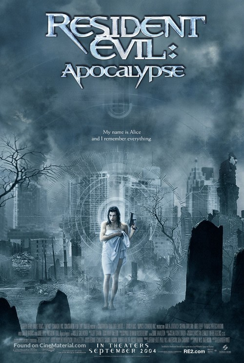 Resident Evil: Apocalypse - Movie Poster