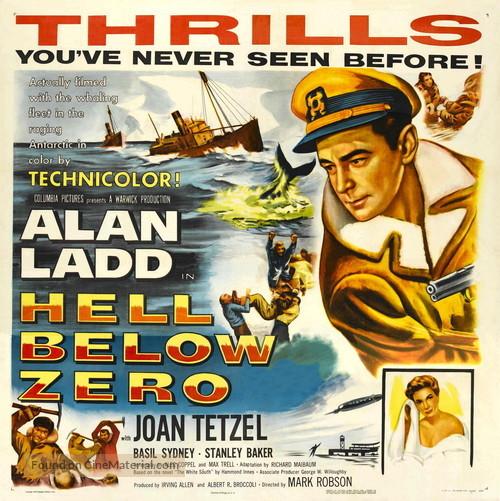Hell Below Zero - Movie Poster