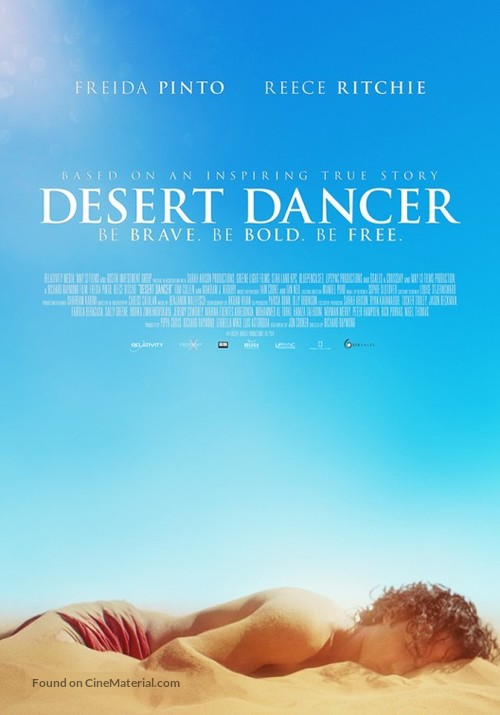 Desert Dancer - British Movie Poster