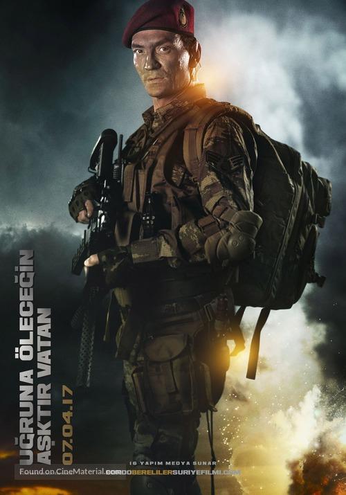 Bordo Bereliler Suriye - Turkish Movie Poster