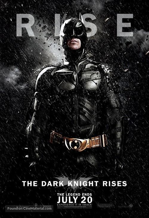 The Dark Knight Rises - Movie Poster