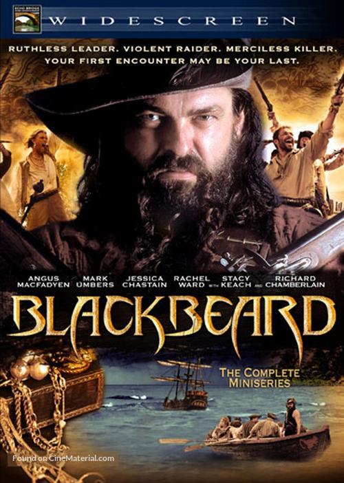 """Blackbeard"" - DVD movie cover"