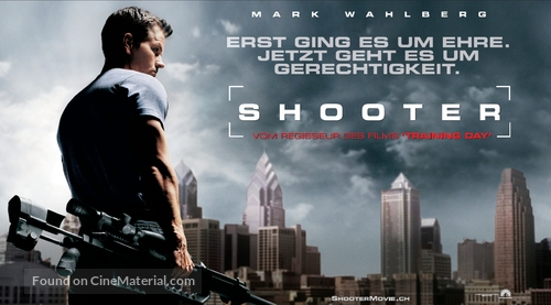 Shooter - German Movie Poster