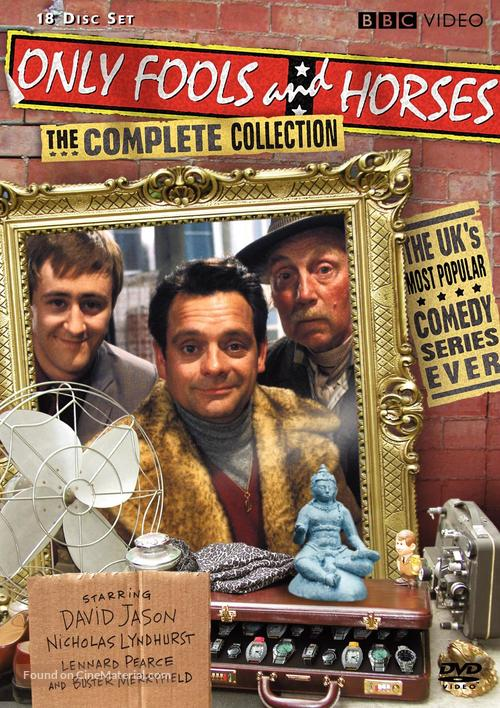 """""""Only Fools and Horses"""" - DVD movie cover"""