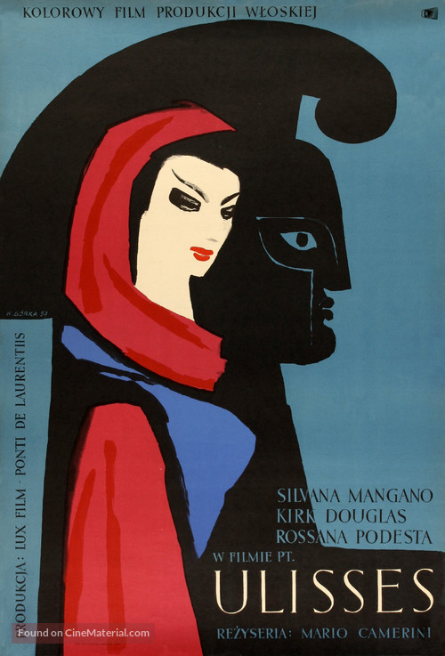 Ulisse - Polish Movie Poster