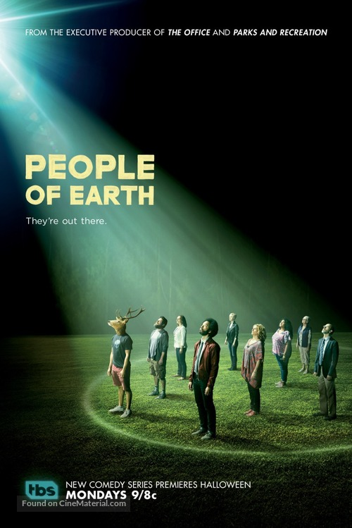 """""""People of Earth"""" - Movie Poster"""