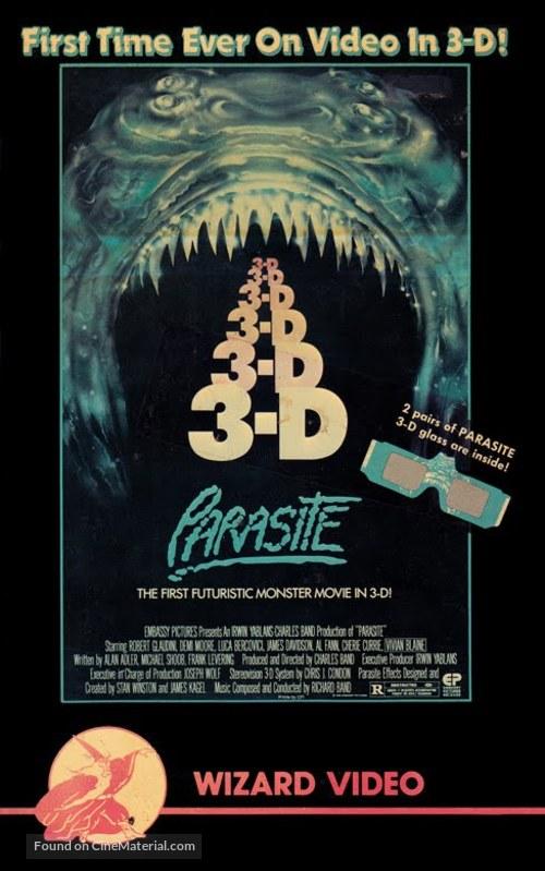 Parasite - VHS movie cover