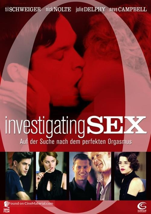 Investigating Sex - German Movie Poster