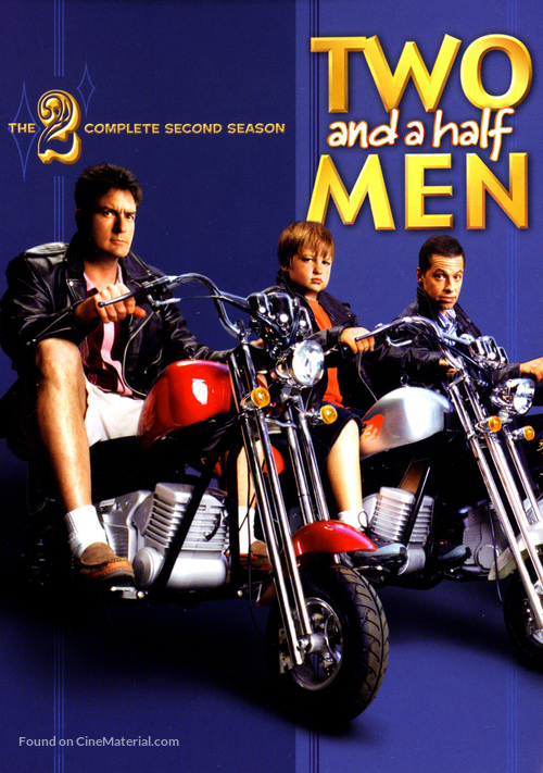"""""""Two and a Half Men"""" - DVD movie cover"""