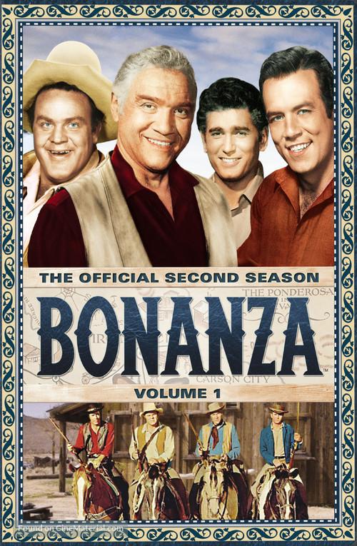 """""""Bonanza"""" - DVD movie cover"""