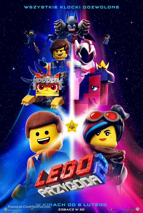 The Lego Movie 2: The Second Part - Polish Movie Poster
