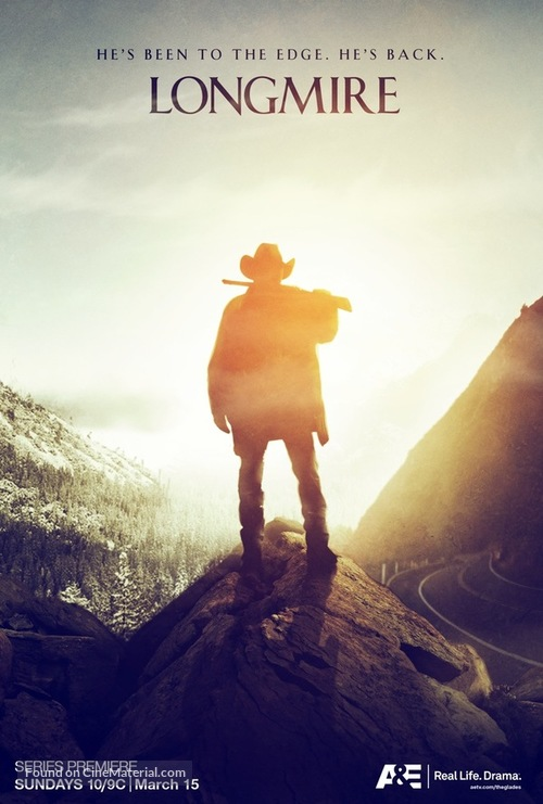 """Longmire"" - Movie Poster"