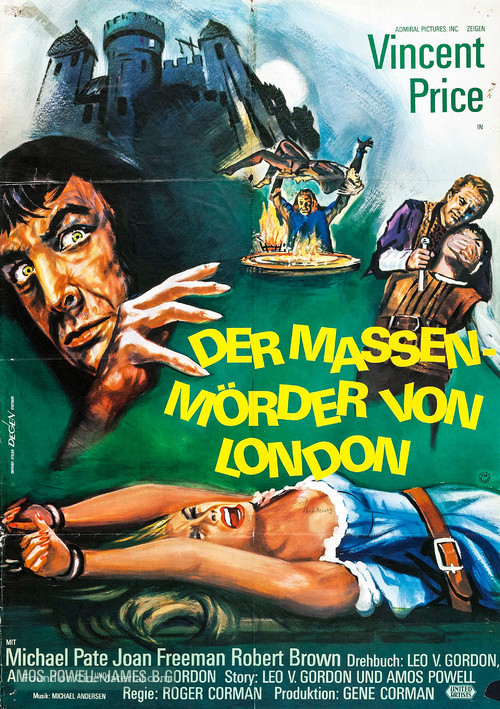 Tower of London - German Movie Poster