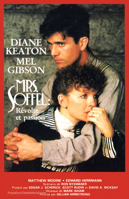 Mrs. Soffel - French Movie Poster