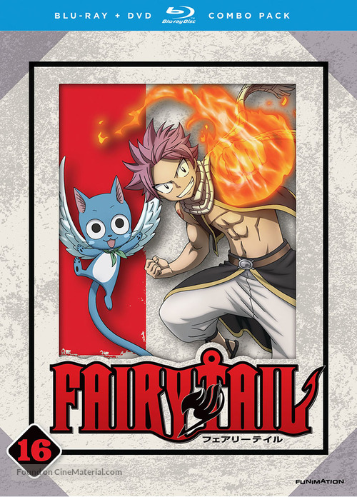 """""""Fairy Tail"""" - Blu-Ray cover"""
