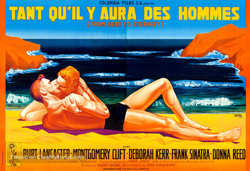 From Here to Eternity - French Movie Poster