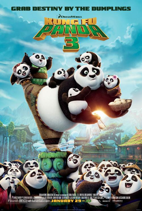 Kung Fu Panda 3 - Theatrical poster