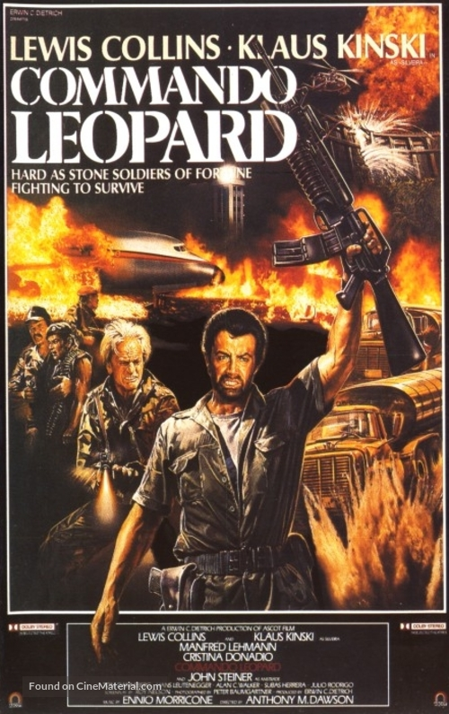 Kommando Leopard - Italian Movie Poster