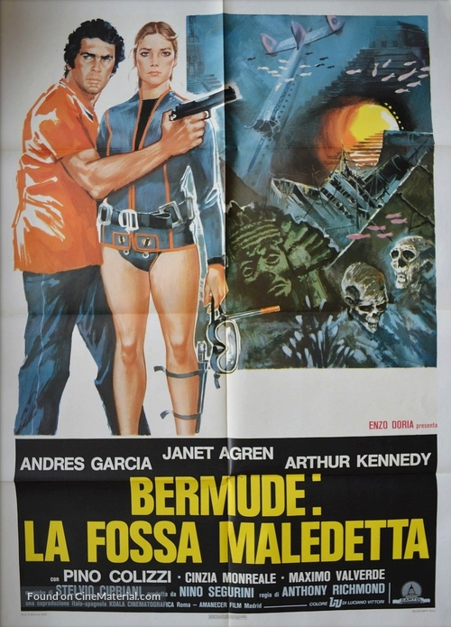 Fossa Movie Poster Italian Maledetta BermudeLa uPiXkZO