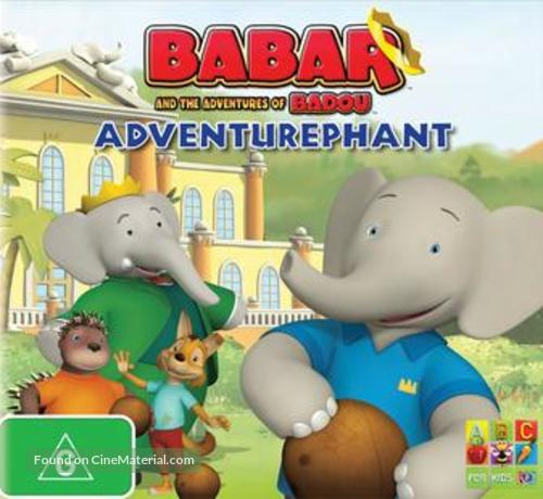 """""""Babar and the Adventures of Badou"""" - Australian DVD movie cover"""