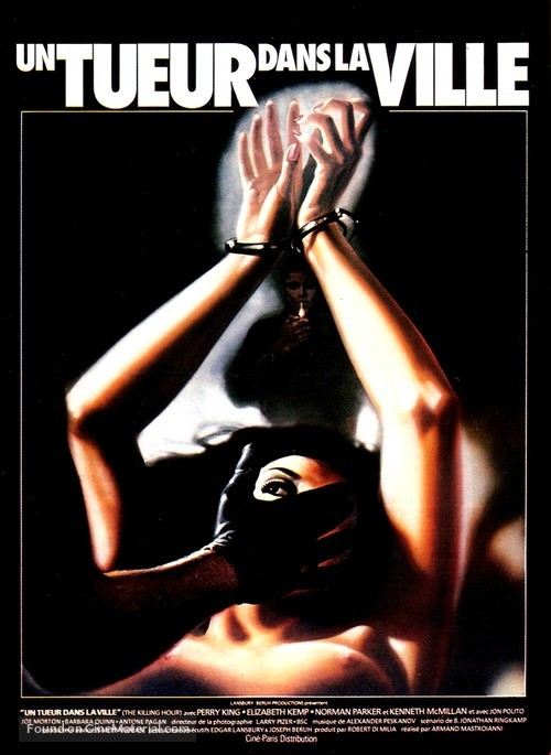 The Clairvoyant - French Movie Poster