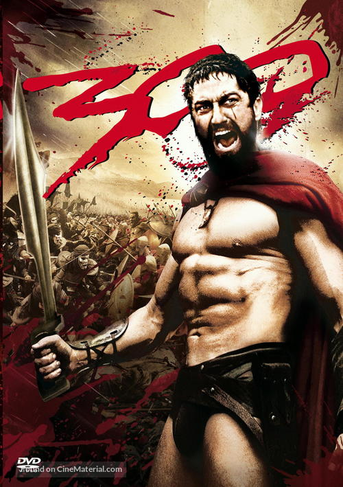 300 - DVD movie cover