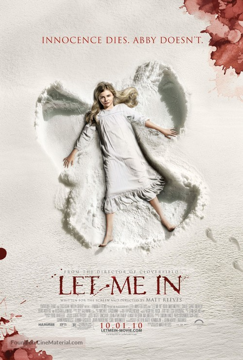Let Me In - Movie Poster