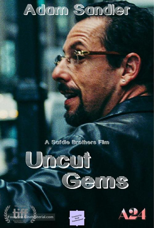 Image result for uncut gems poster