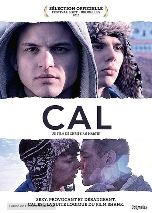 Cal - French DVD movie cover