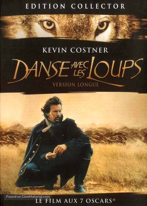 Dances with Wolves - French DVD cover