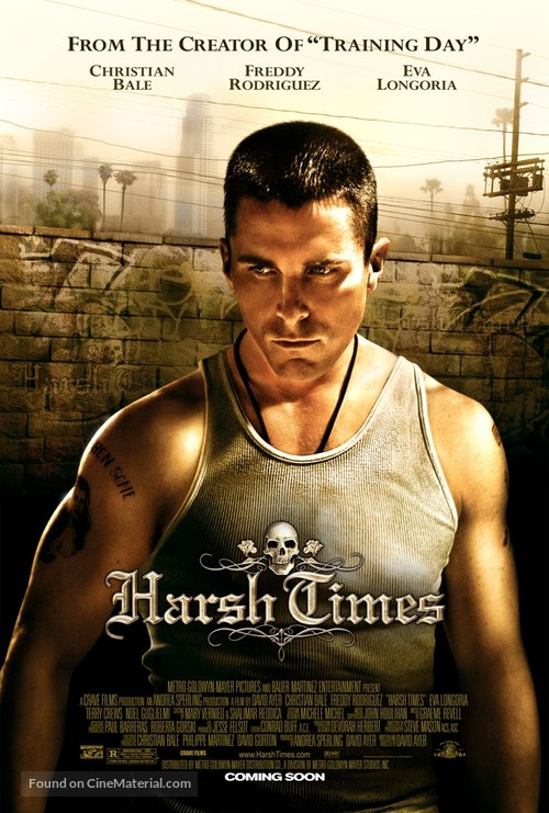 Harsh Times - Advance movie poster