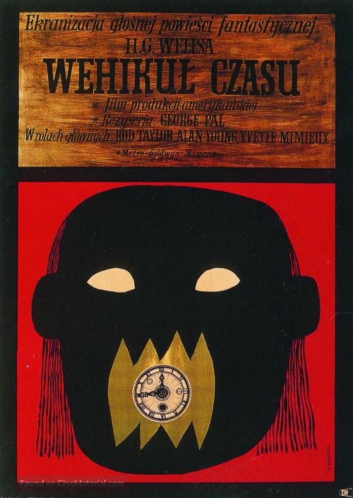 The Time Machine - Polish Movie Poster