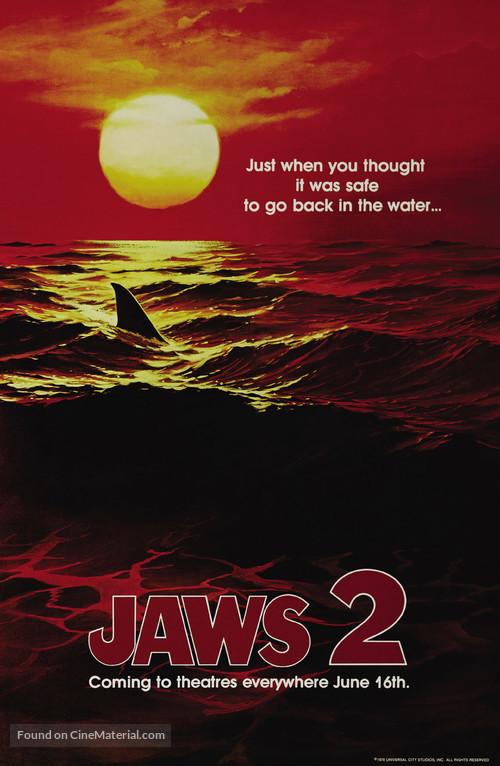 Jaws 2 - Teaser poster