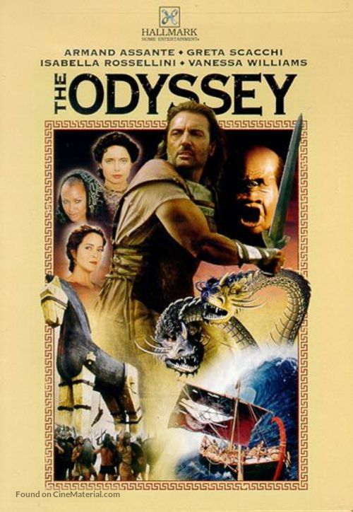 """The Odyssey"" - DVD cover"