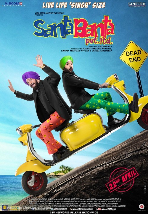 Santa Banta Pvt Ltd - Indian Movie Poster