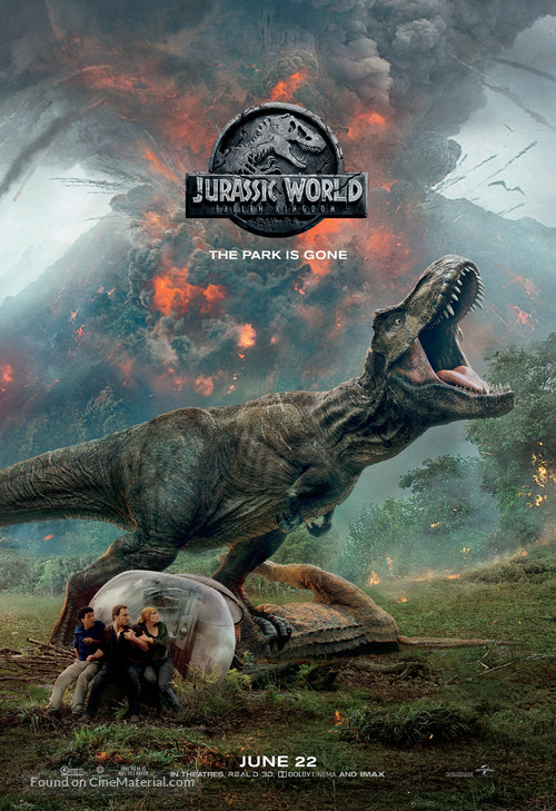Jurassic World Fallen Kingdom - Movie Poster