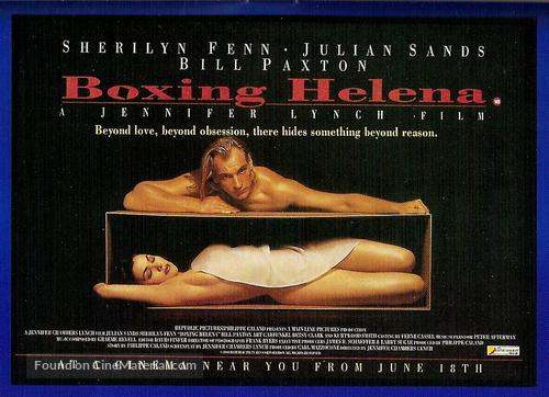 Boxing Helena - Movie Poster