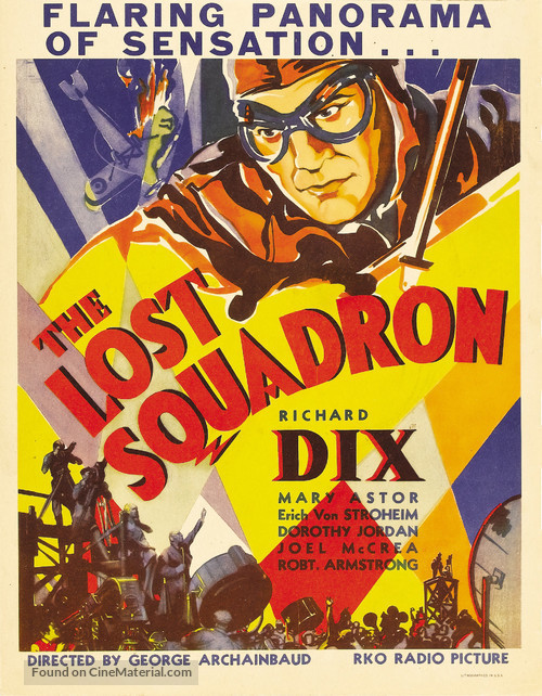 The Lost Squadron - Movie Poster